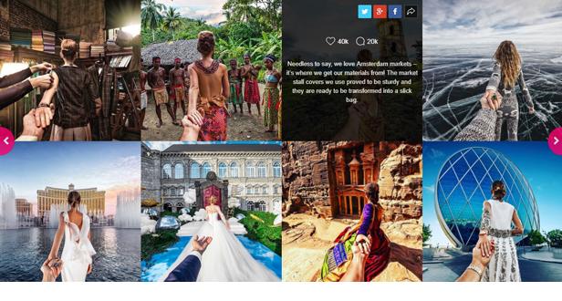 Saragna - Instagram Social Stream Grid With Carousel