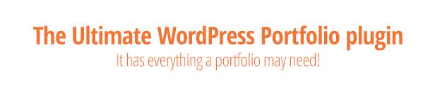 Portfolio Manager Pro - WordPress Responsive Portfolio & Gallery - 1