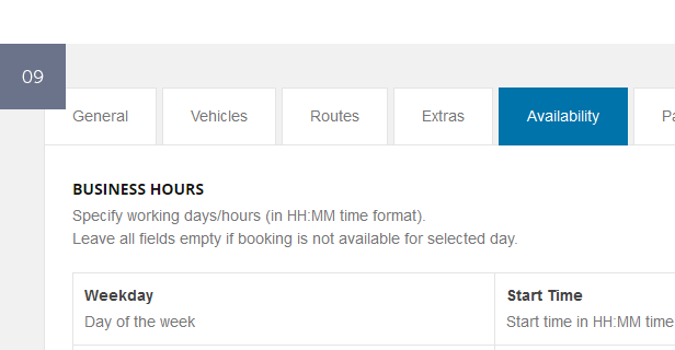 Chauffeur Booking System for WordPress - 9