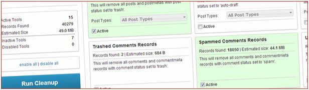 Cleanup Tools: 19 in version 5.0