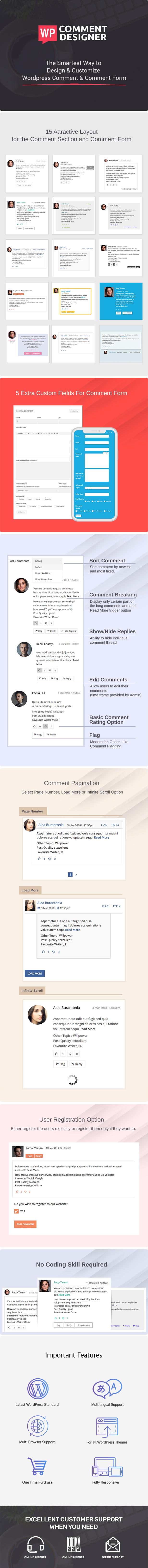 WP Comment Designer