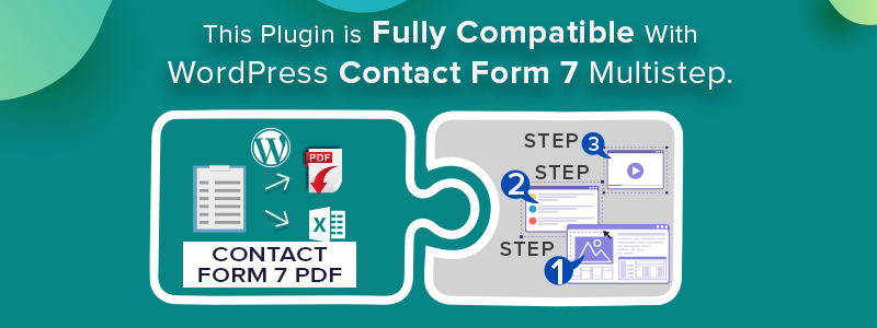 WordPress Contact Form 7 PDF, Google Sheet & Database - 1