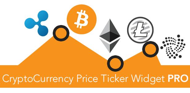 cryptocurrency widgets pro