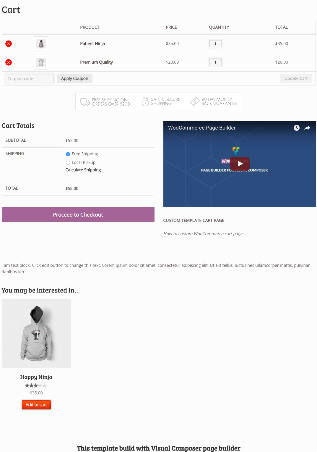 WooCommerce Page Builder - 17