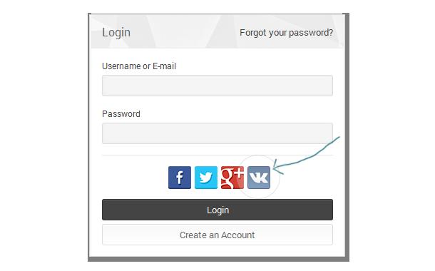 VK.com Social Connect for UserPro - 2