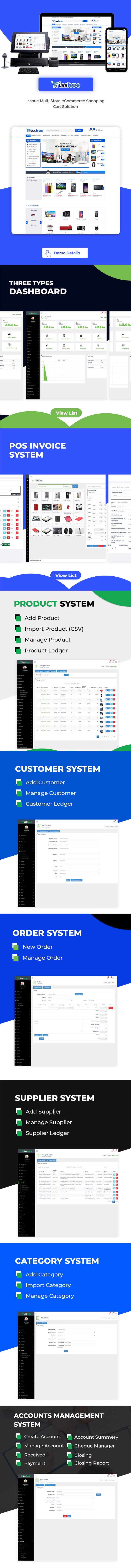 Isshue - Multi Store eCommerce Shopping Cart Solution - 3