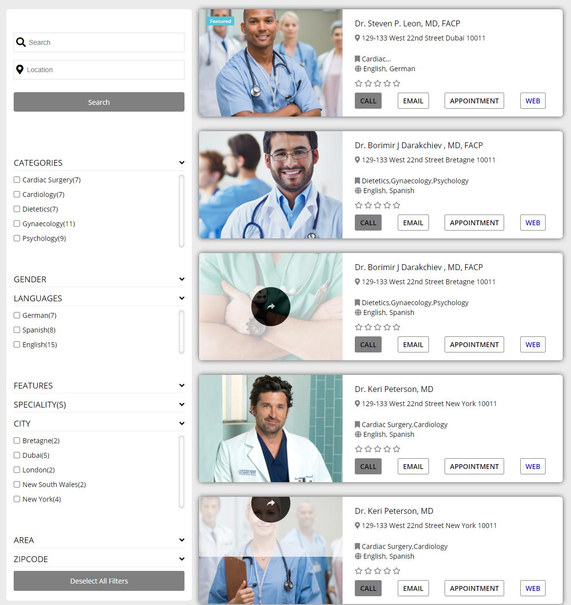 Hospital & Doctor Directory - 4