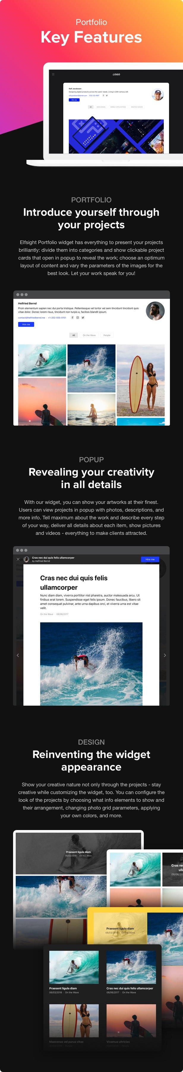 Portfolio Gallery - WordPress Portfolio - 1