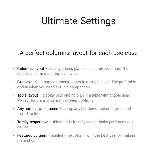 Pricing Table — WordPress Pricing Table Plugin - 3
