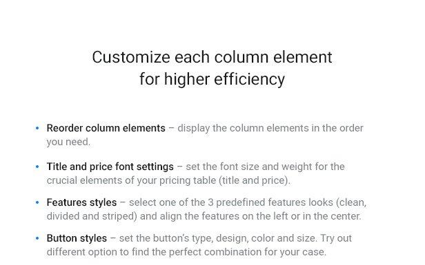 Pricing Table — WordPress Pricing Table Plugin - 7