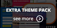 Ninja Popups Extra Theme Pack