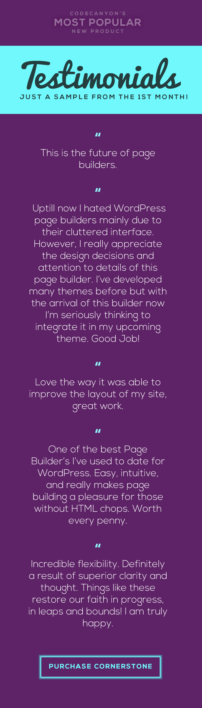 Cornerstone | The WordPress Page Builder - 1