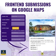 Frontend Submission On Google Maps
