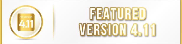 Featured Version 4.11