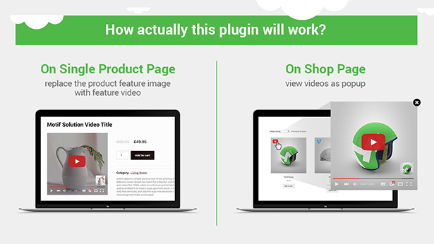 WooCommerce Product Featured Video