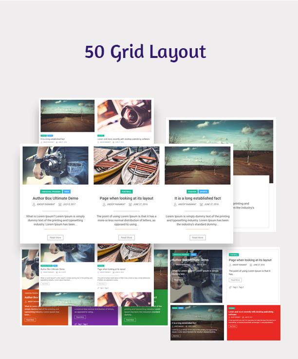 Blog Designer - Post and Widget Pro - 3