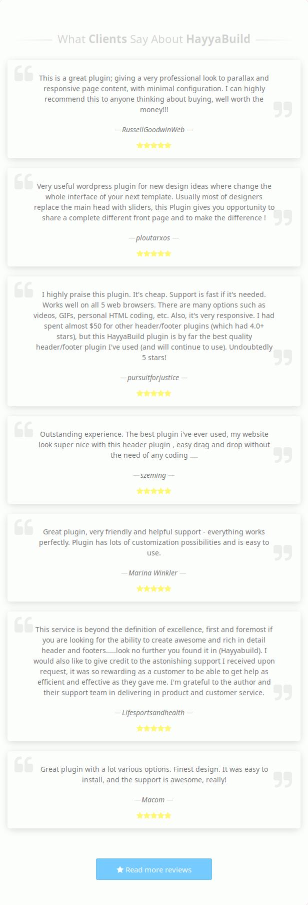 HayyaBuild reviews