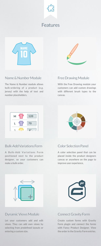 Fancy Product Designer Plus Add-On   WooCommerce WordPress - 1