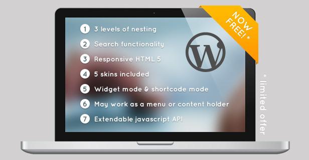 Responsive Searchable 3 Level Accordion For WordPress - 8