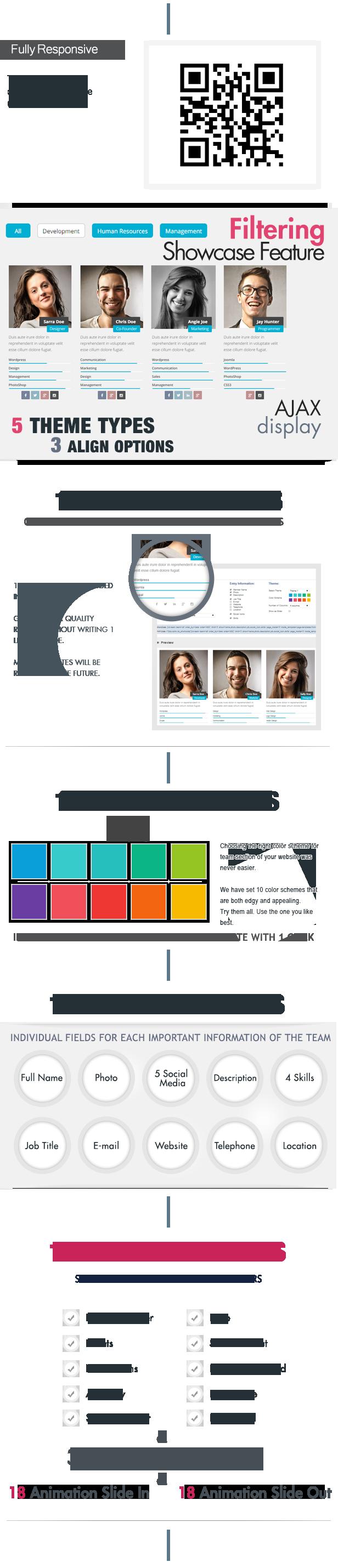 My Team Showcase WordPress Plugin - 2
