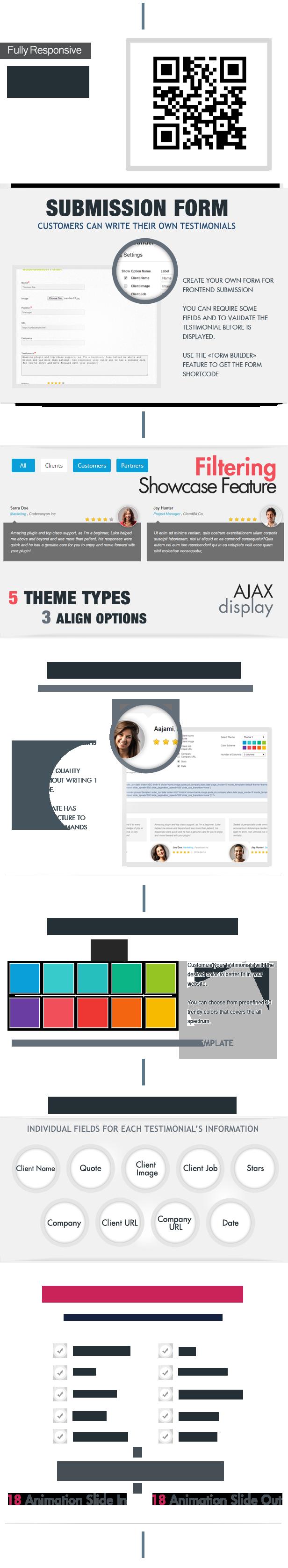 Testimonials Showcase WordPress Plugin - 2