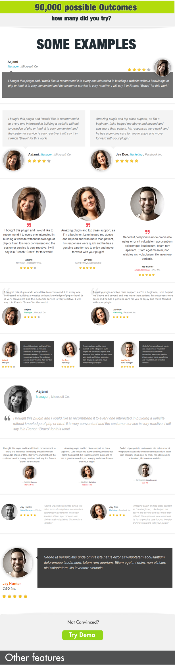 Testimonials Showcase WordPress Plugin - 4