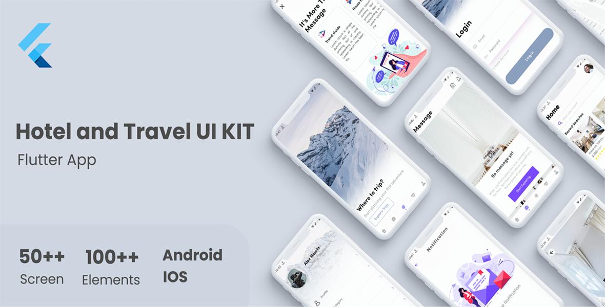 Flutter ECommerce UI KIT Template in flutter e-commerce store apps - 11