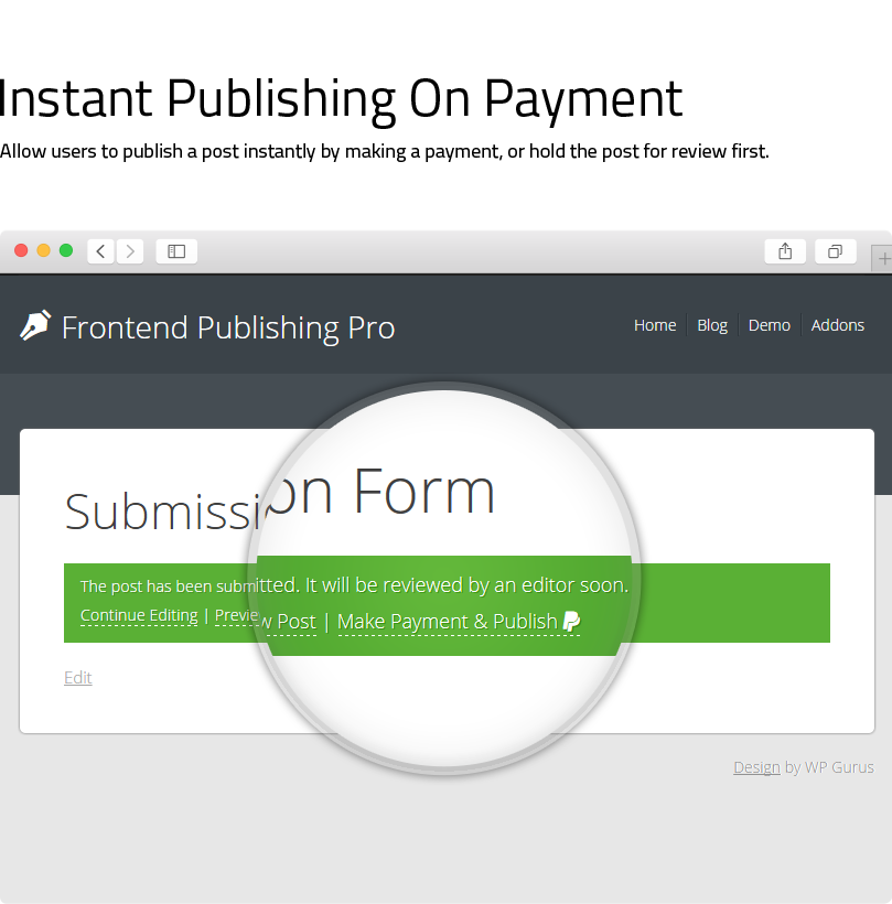 Frontend Publishing Pro - WordPress Post Submission Plugin - 19