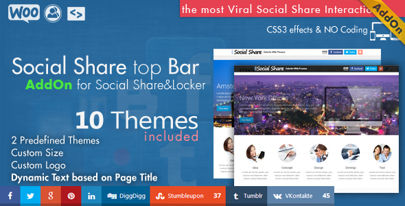 Social Share Page Views AddOn - WordPress - 9
