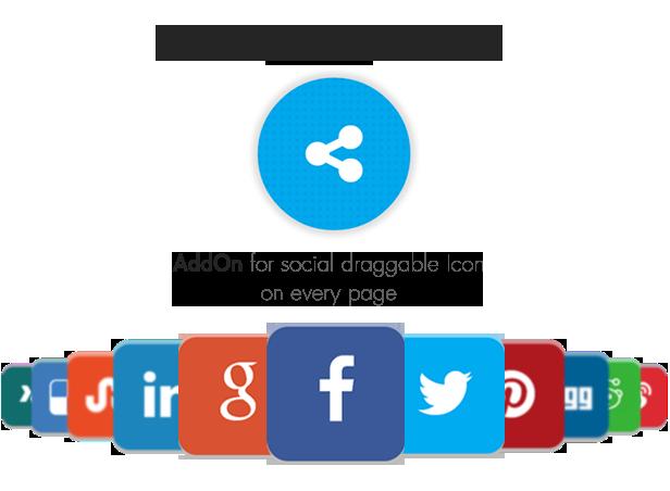 Social Share Point AddOn  - WordPress - 4
