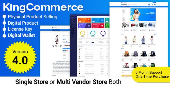 eCommerce - Responsive Ecommerce Business Management System - 1