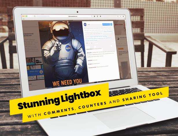 WordPress Facebook Instagram Twitter Social Feed Gallery Plugin lightbox