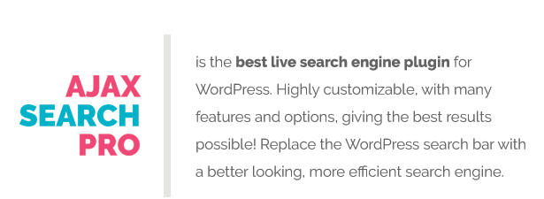 Ajax Search Pro - Live WordPress Search & Filter Plugin - 4