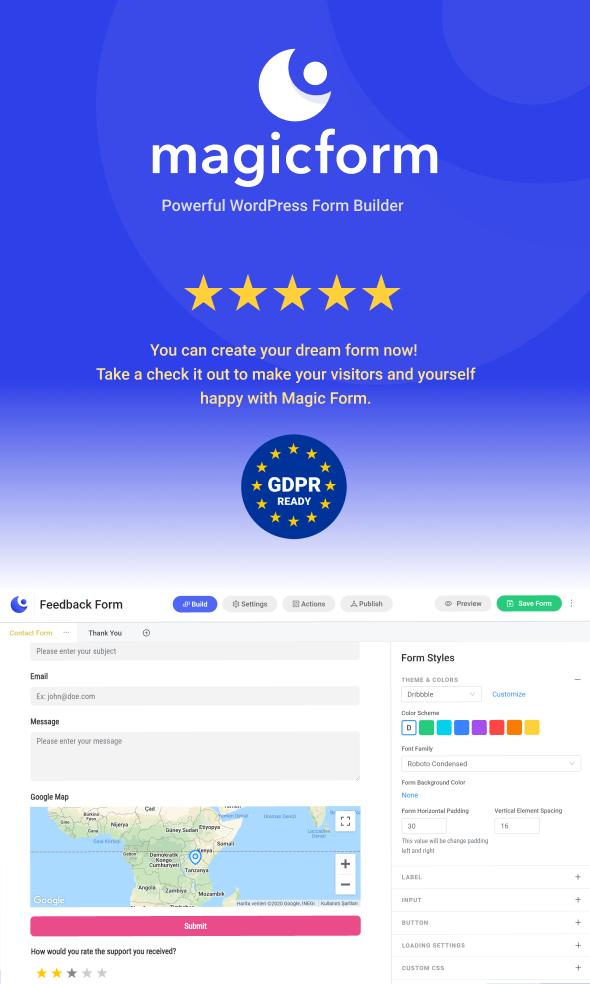 MagicForm - WordPress Form Builder - 3
