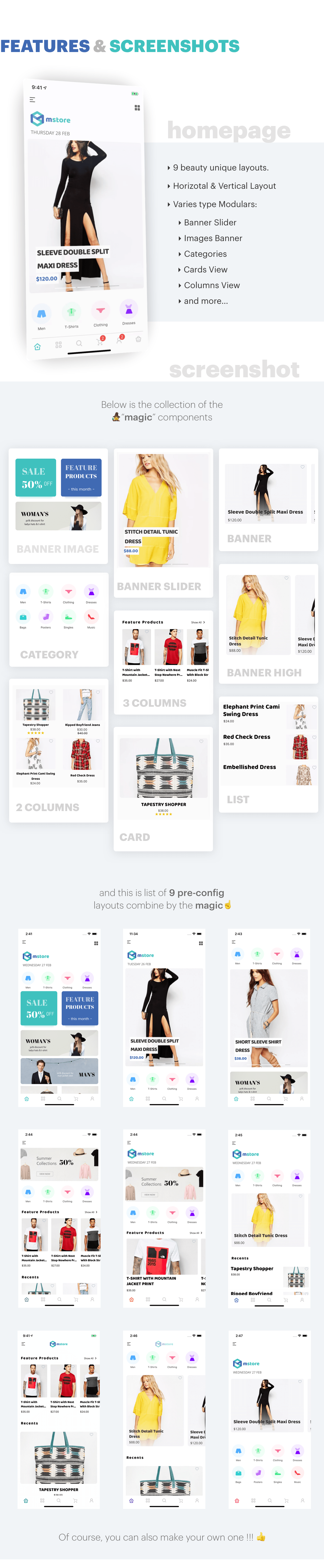 Mstore Expo - Complete React Native template for WooCommerce - 10
