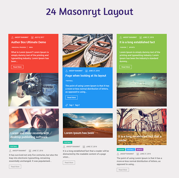 Blog Designer - Post and Widget Pro - 5
