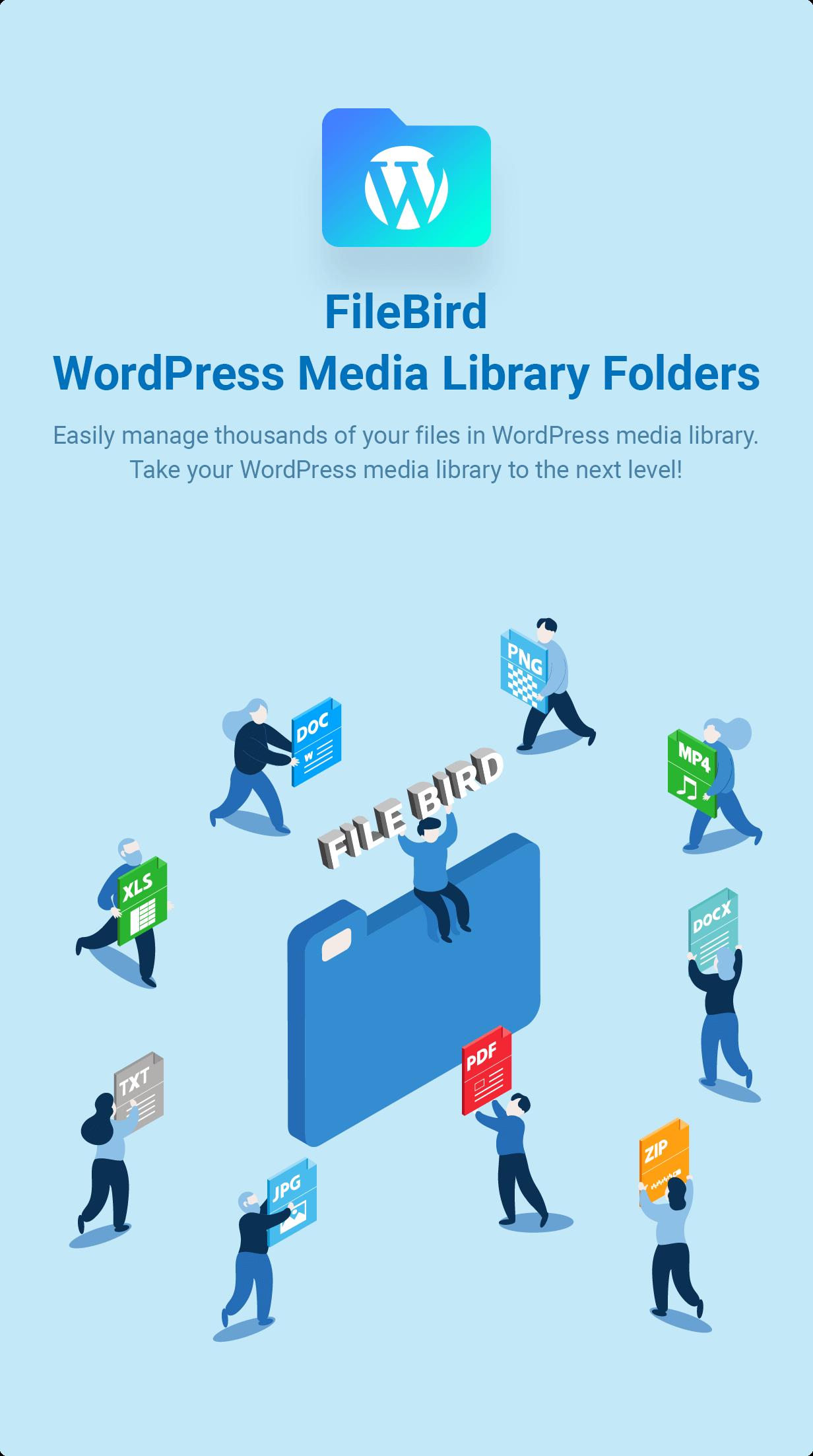 FileBird - WordPress Media Library Folders & File Manager
