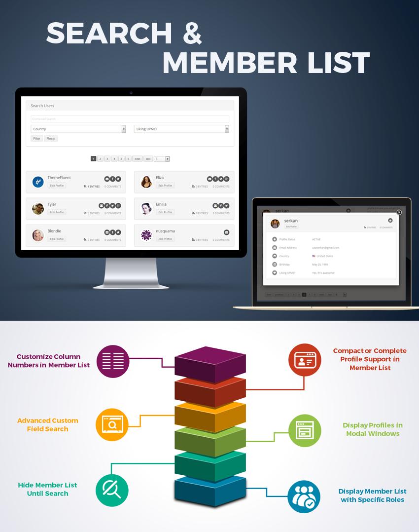 User Profiles Made Easy - WordPress Plugin - 14