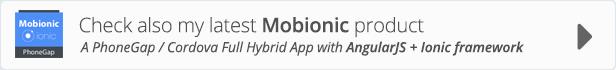 Ionic WooCommerce API - PhoneGap / Cordova Full Hybrid App - 3