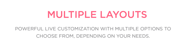 ionic template multiple layouts