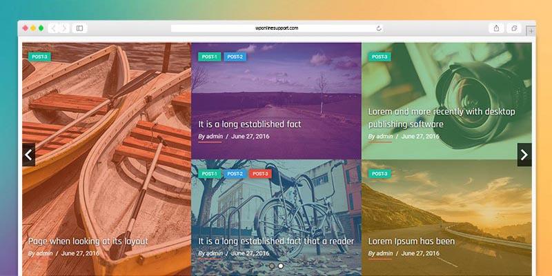 Responsive Recent Post Slider Pro plugin for WordPress - 3