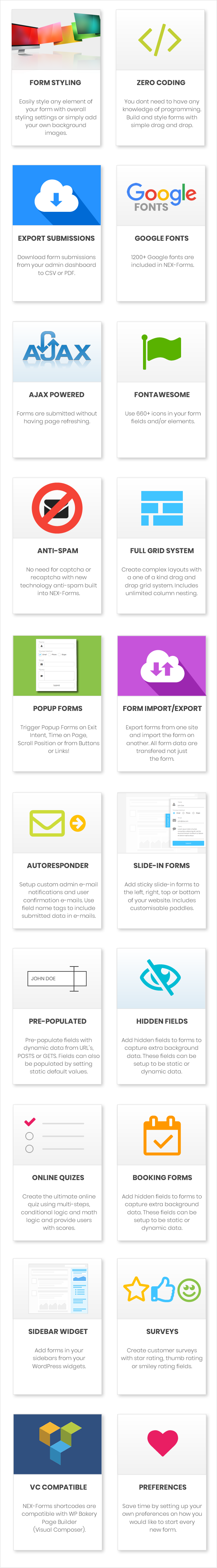 Best WordPress Form Builder Plugin - Overall Features