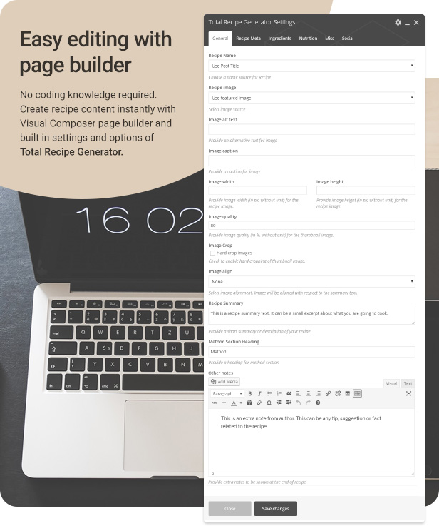 WPBakery Page Builder page builder