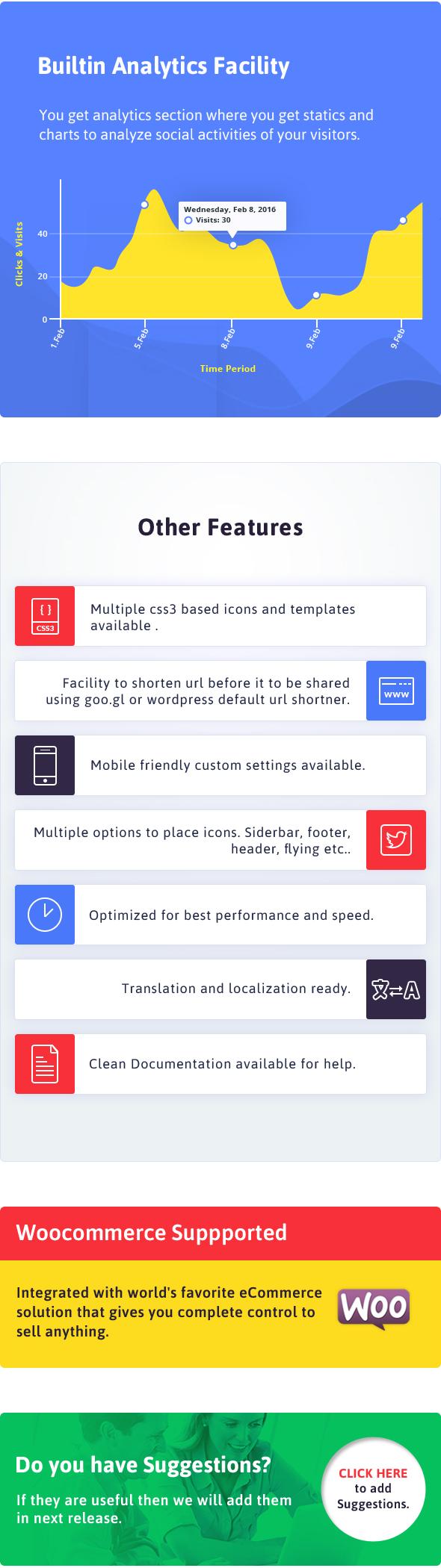 ARSocial - Social Share Buttons & Social Locker Plugin - 5