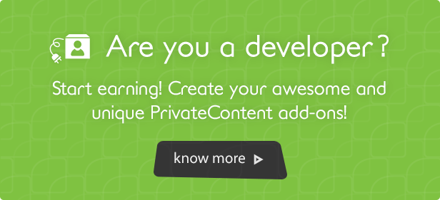PrivateContent - WordPress Bundle Pack - 12
