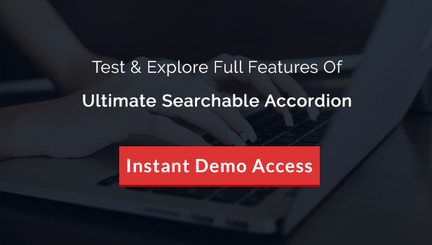 Ultimate Searchable Accordion - WPBakery Page Builder Addon - 29