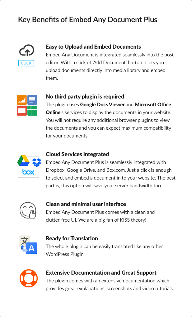 Embed Any Document Plus - WordPress Plugin - 4