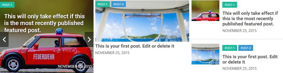 Responsive Recent Post Slider Pro plugin for WordPress - 5