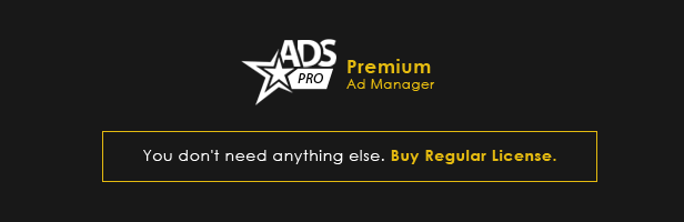 Ads Pro - Ad Manager