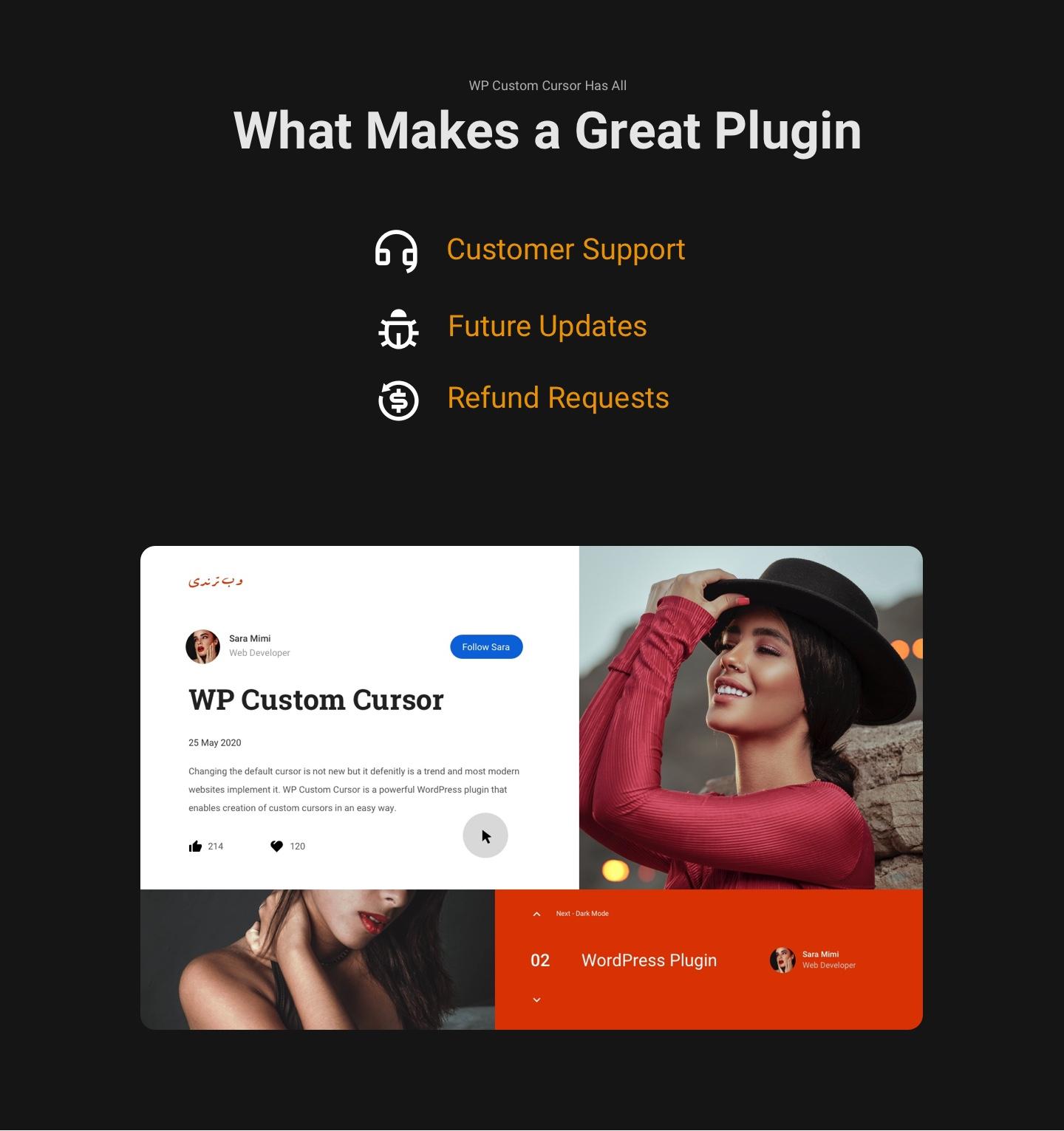 WP Custom Cursor | Customer Support